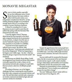 """Renita shares her love for MonaVie. """"I was negative NANCY. A skeptic from the start, it was her husband's response to the product that caused her to reconsider its credibility."""" Now Fargo, North Dakota, the people there are on fire! (not literally!) and people are winning big time! If you want to learn more, contact me, through my site. www.monavie.com/en/rep/viewvitality"""