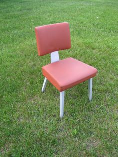 Good Form Mid Century Chair, Aluminum Chair, Mid Century Modern Side Chair, General Fireproofing Company Chair, Retro Industrial Chair