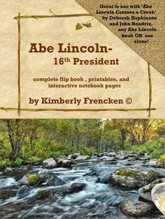 A Flip Book. An interactive notebook. Passages and Printables. EVERYTHING in ONE resource for a GREAT Price! Enough information and resources for over one week of reading lessons. Review and reinforce skills while learning some fun facts about Lincoln.