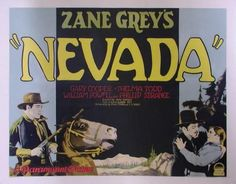 Nevada (1927) Stars: Gary Cooper, Thelma Todd, William Powell, Philip Strange ~ Director: John Waters