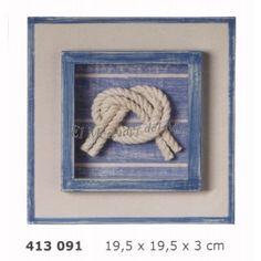 cuadro-decoracion-marina-con-nudo-nautico.jpg (400×400)gim