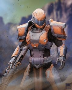 Post with 31121 views. Destiny Art by Pherian Light Of Life, Light In The Dark, Armor Concept, Concept Art, Destiny Game, Destiny Bungie, Titan Armor, Pokemon, Futuristic Design