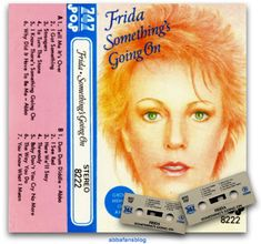 """A rather strange vesion of Frida's album """"Something's Going On"""" which includes the Abba tracks """"Why Did It Have To Be Me"""" and """"Dum Dum Diddle"""" #Abba #AnniFrid #SomethingsGoingOn About Me Blog, Fans, Album, Queens, Followers, Thea Queen, Card Book"""