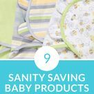 There are so many baby products how do you know what is a must-have and what's a waste of money? These nine baby items saved my sanity the first year and should be on every baby registry. Don't forget our free printable registry checklist.