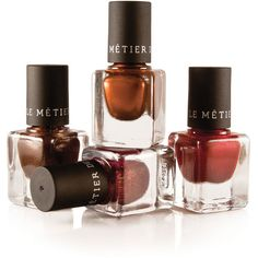Le Metier de Beaute Fall/Winter Mini Nail Lacquer ($10) ❤ liked on Polyvore