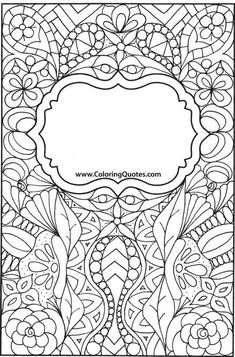 Free Sample Pages Doodle Coloring, Colouring Pages, Adult Coloring Pages, Coloring Sheets, Coloring Books, School Binder Covers, Book Of Shadows, Cover Pages, Art Plastique