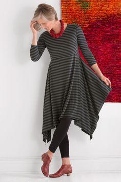 Nocturne Tunic Dress by Mariam Heydari (Knit Tunic) | Artful Home