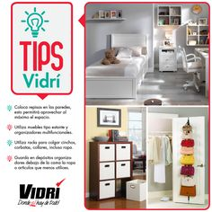 Tips Vidrí #almacenesvidri Ideas Para, Daughter, Organize, Beds, Space, Furniture