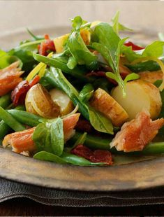 Recipe: Smoked trout, fingerling and bacon salad just left Whole Foods should have looked this one up first.