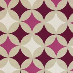 "large pattern ~5"" each circle  Linen Retro Chic 3 bei stoffe.de"
