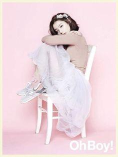 Soojin Park   #박수진 #ohboy #newbalance