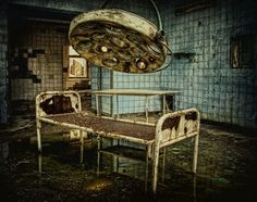 old medical equipment is inherently creepy due to the pain/torture factor
