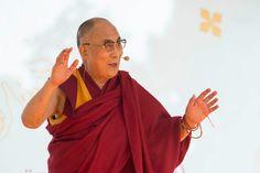 His Holiness the Dalai Lama speaking at Wiesbaden Kupark in Wiesbaden, Hessen, Germany on July 12, 2015. Photo/Manuel Bauer