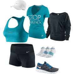 The Effective Pictures We Offer You About workout attire running gear A quality picture can tell you Cute Athletic Outfits, Cute Gym Outfits, Sporty Outfits, Nike Outfits, Athletic Wear, Summer Outfits, Workout Attire, Workout Wear, Workout Outfits
