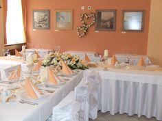natural orange wedding
