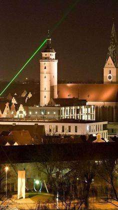 Ingolstadt, Germany. El campanario que vio Victor Frankenstein al llegar a esta ciudad.