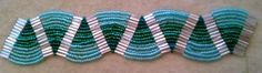Ladder Stitch Bracelet Tutorial-AquaticWaves at My-Amari.com