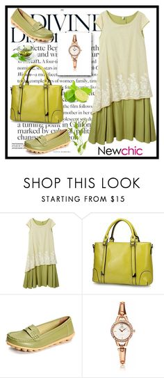 """Newchic28"" by merisa-imsirovic ❤ liked on Polyvore featuring vintage"