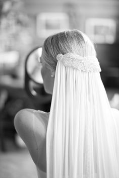 Feminine womenswear and luxury bridal for the fashion-forward. Wedding Hair And Makeup, Bridal Hair, Wedding Veils, Wedding Dresses, Bridal Veils, Wedding Bride, Wedding Hairstyles With Veil, Hairstyle Wedding, Trends