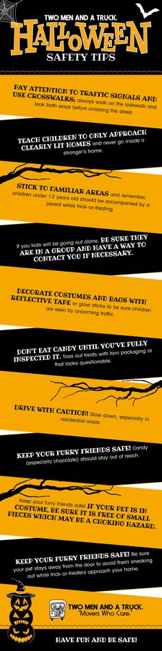 46 Best Halloween Safety Tips images in 2018 | Halloween