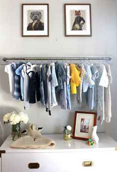 Wall Shelf With Hanging Rod wall shelves and hanging rod in nurseryi want to do a smaller