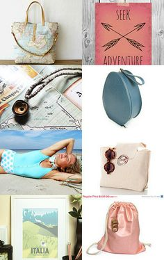 Let's Get Away by Marsha on Etsy--Pinned with TreasuryPin.com