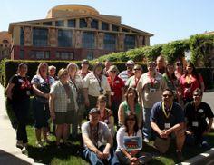 2013 PNW Mouse Treks Tour - Group Photo at Walt Disney Studios