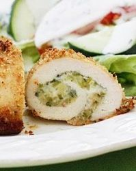 Sun Dried Tomato & Basil-Stuffed Chicken Rollitini | Muscle and Fitness Hers