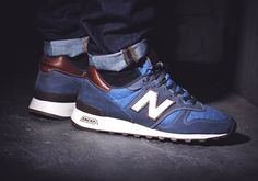 Men New Balance 1300 NB1300 Shoes Cone Mills X M1300CD Blue|only US$95.00 - follow me to pick up couopons.