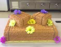 Hay Bale Cake For Country Theme Banquet