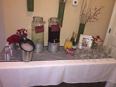 bridal brunch decor