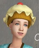 cupcake hat - bunhead