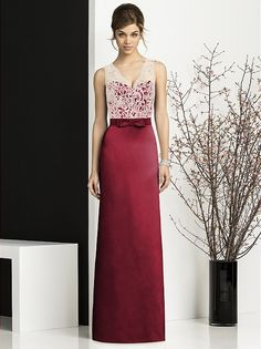 After Six Bridesmaids Style 6675 http://www.dessy.com/dresses/bridesmaid/6675/#.UgEuHR8o4ic