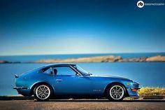 Datsun blue...no flairs!