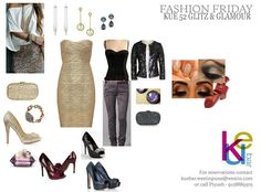Fashion Friday Trend of the Week on KUE 52 Anniversary party - Glitz & Glamour contact +91 58889305