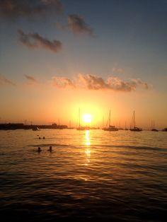 Sunset at San Antonio bay #sanantonio #patiencegin #ibiza #sunsetthrumylens