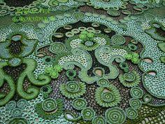 beautiful Irish-style crochet by Miroslava Gorokhovich via Flickr