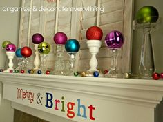 19 Creative Ways Of Decorating With Ornaments Without A Tree 19