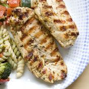 Grilled Chicken Breasts with Lemon and Thyme, Recipe
