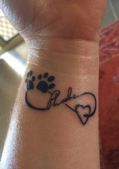 Beloved+Pet+Tattoo | This is one of our last photos together on the day we had to get her ...