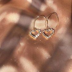 Prom Earrings, Cute Earrings, Heart Earrings, Diamond Earrings, Dainty Earrings, Small Earrings, Earrings Handmade, Dangle Earrings, Grunge Accessories