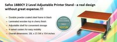#Safco #1880CY 2 Level Adjustable #Printerstand - a real design without great expense.!!!