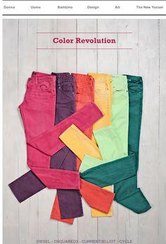 yoox _Denim: Color Revolution