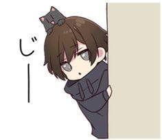 Chibi Boy, Cute Anime Chibi, Manga Cute, Cute Anime Guys, Cute Anime Couples, Kawaii Anime, Anime Grim Reaper, Dark Comics, Anime Expressions