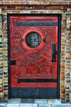 fabulous door ~ 1734 North Wells Street; Sally Hunter | Flickr - Photo Sharing!