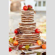 Bolos de casamento inspirados no outono. #casamento #bolodosnoivos #maçãs #uvas #outono #inspiração
