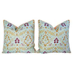 Le Gracieux Kirachi Linen Pillows,  Pair by One Kings Lane $399