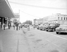 Florida Memory - Monroe Street - Tallahassee, Florida 1948