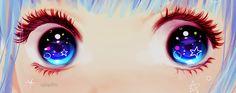 eyes stars kawaii anime - Buscar con Google
