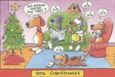 honden kerstboom